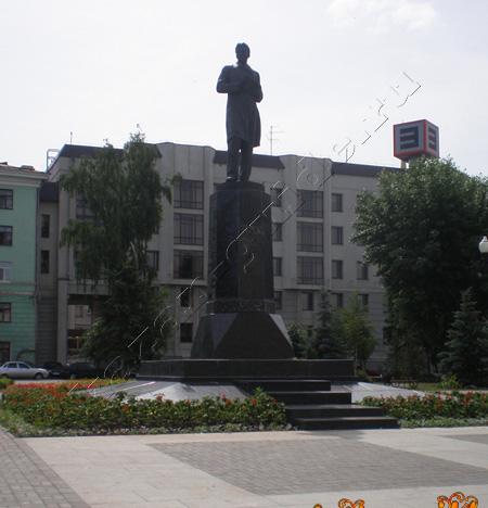 площадь Тукая, театр Камала казань