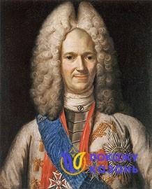 Князь А.Д. Меншиков. Неизвестный художник, 1-я четверть XVIII в.