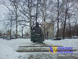 Памятник Баки Урманче.