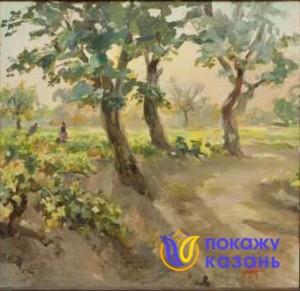 Баки Урманче. Тутовые деревья.