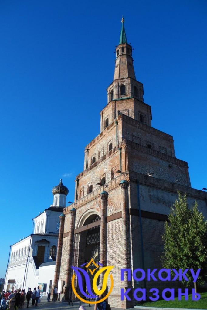 Башня Сююмбике была построена в начале XVIII века во время правления Петра Первого