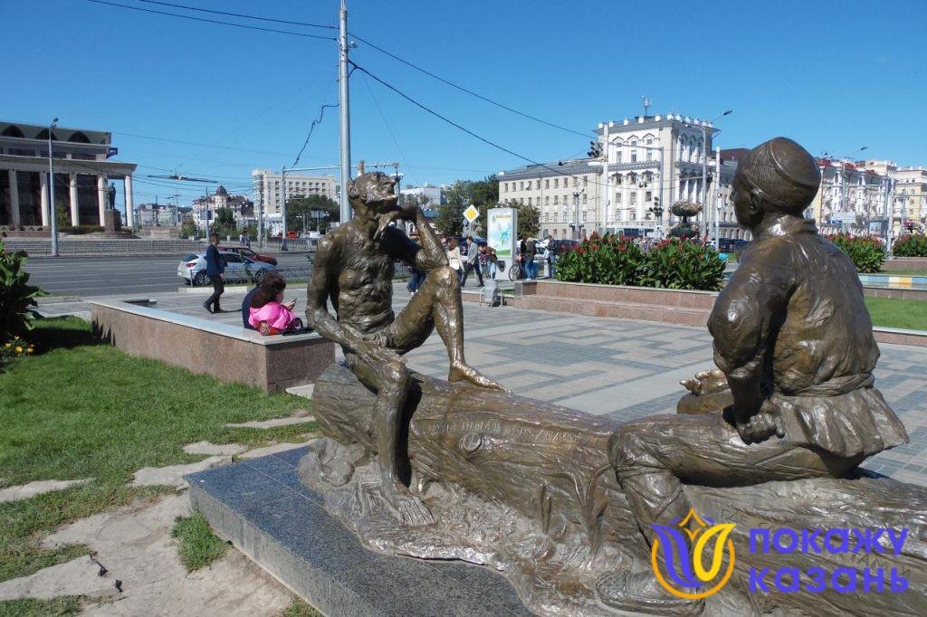 "Памятник ""Загадки Шурале"""